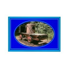 Old Trains Rectangle Magnet (10 pack)