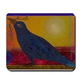 Cool Crow Mousepad