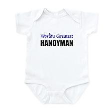 Worlds Greatest HANDYMAN Infant Bodysuit