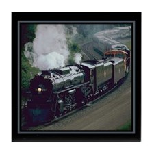 Steam Trains Tile Coaster