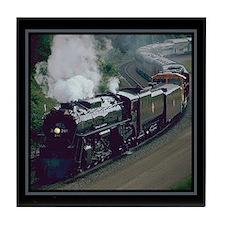 Steam Trains Tile Coaster