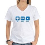 eat sleep poker Shirt