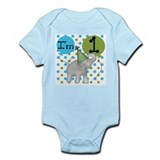 Elephant 1st Birthday Infant Bodysuit