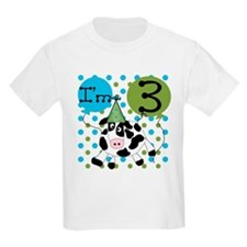 Cow 3rd Birthday T-Shirt