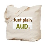 just plain aud/audball Tote Bag