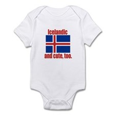 Cute Icelandic Infant Bodysuit