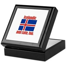 Cute Icelandic Keepsake Box