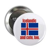 Cute Icelandic Button