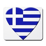 Greek Heart Mousepad