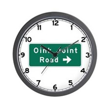 Oink Joint Road, Wadena (MN) Wall Clock