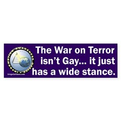 War on Terror Wide Stance Sticker