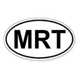 Manistee River Trail (MRT) Euro-style sticker