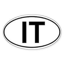 Iditarod Trail (IT) Euro-style sticker