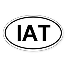 Ice Age/Int'l Appalachian Trail (IAT) Euro-sticker