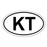 Knobstone Trail (KT) Euro-style sticker