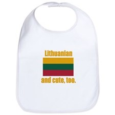 Cute Lithuanian Bib