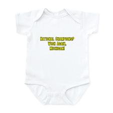 Iowa Hates Michigan Infant Bodysuit