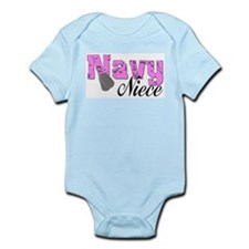 Navy Niece Infant Bodysuit