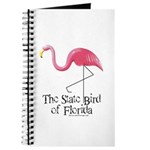 Pink Plastic Flamingo Journal