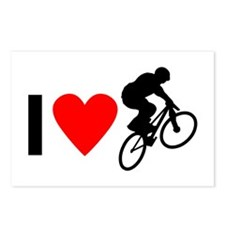 I love BMX Postcards (Package of 8)