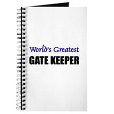 Worlds Greatest GATE KEEPER Journal