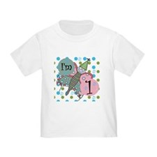 Butterfly 1st Birthday T