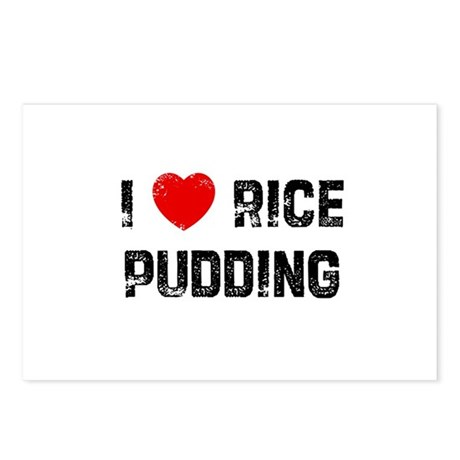 I * Rice Pudding Postcards (Package of 8)