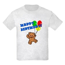 Birthday Bear & Balloons T-Shirt