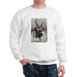 Cute German shepherd dog designs Sweatshirt