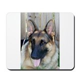 Cute German shepherd Mousepad