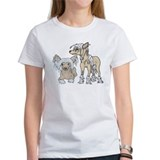 Chinese Crested Dog Breed Tee