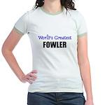 Worlds Greatest FOWLER Jr. Ringer T-Shirt
