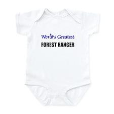 Worlds Greatest FOREST RANGER Infant Bodysuit