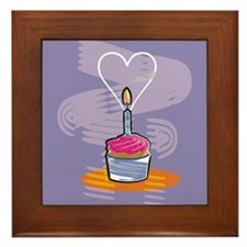 Cupcake Framed Tile
