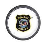 Newark Police Wall Clock