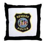 Newark Police Throw Pillow