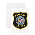 Newark Police Greeting Card