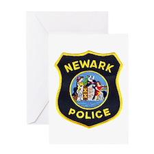 Newark Police Greeting Card