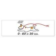 JRT 0-60 Bumper Car Sticker