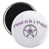 "Proud to be Pagan 2.25"" Magnet (10 pack)"