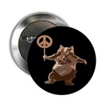 Peace Hamster (Button)