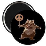 Peace Hamster Magnet (10 pack)