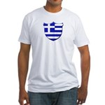 Greek Shield Fitted T-Shirt