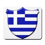 Greek Shield Mousepad