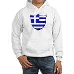 Greek Shield Hooded Sweatshirt