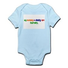 My Mommy & Daddy Are Nurses Infant Bodysuit