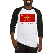Albuquerque NM Flag Baseball Jersey