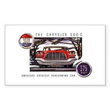 Chrysler 300C Rectangle Decal