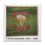 Civil War Irish Brigade Tile Coaster