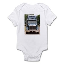Unique Semi trucks Infant Bodysuit